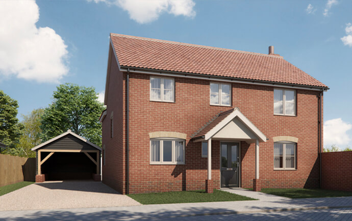 The Spinney, Whatfield IP7 6QQ