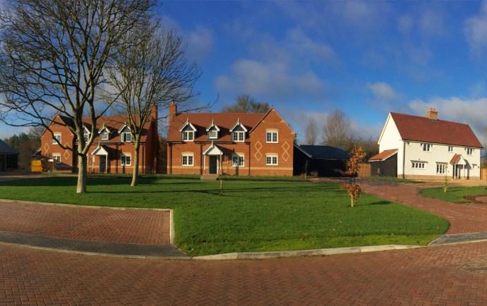 Church Farm Place, Whatfield