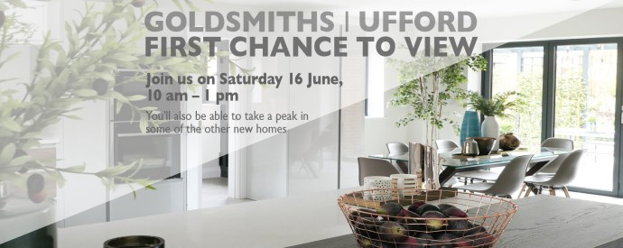 Goldsmiths, Ufford – show home unveiled